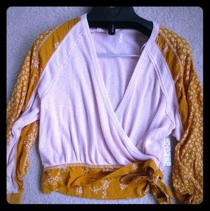 Size xs womens free people wrap top